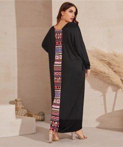 Bohemian chic Kleid groß