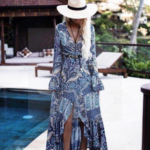 Kleid im Bohemian Chic